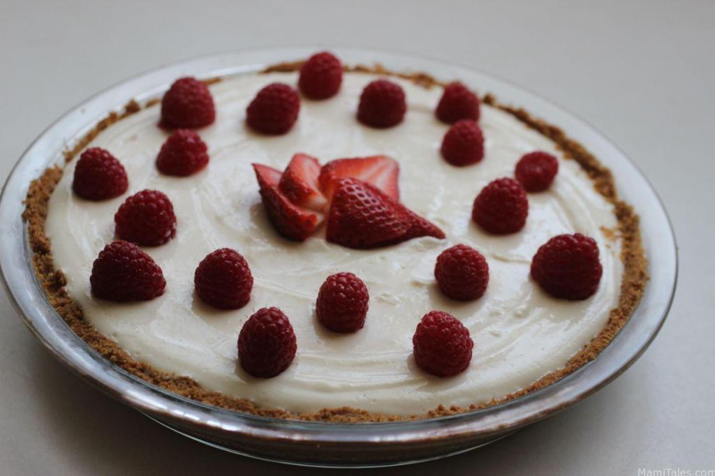Greek yogurt and lemon curd tart - Mami Tales