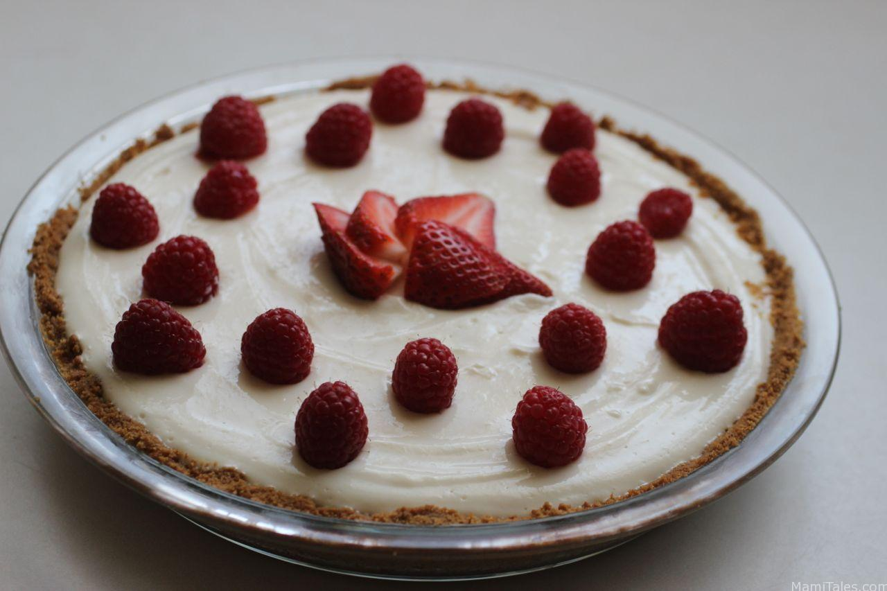 Greek yogurt and lemon curd tart - Mami Tales