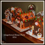 Our Gingerbread House Party this year!