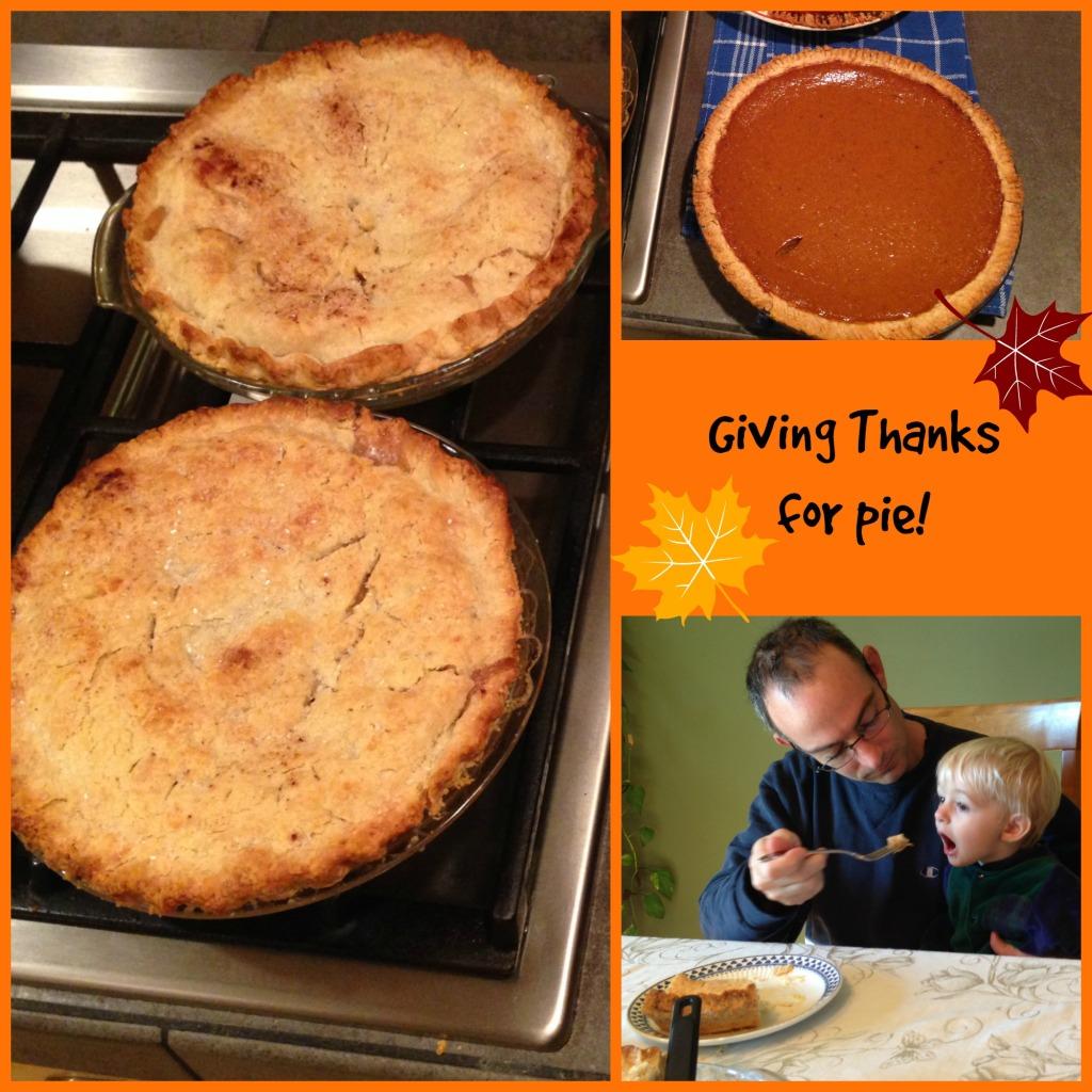 Thanksgiving Pies