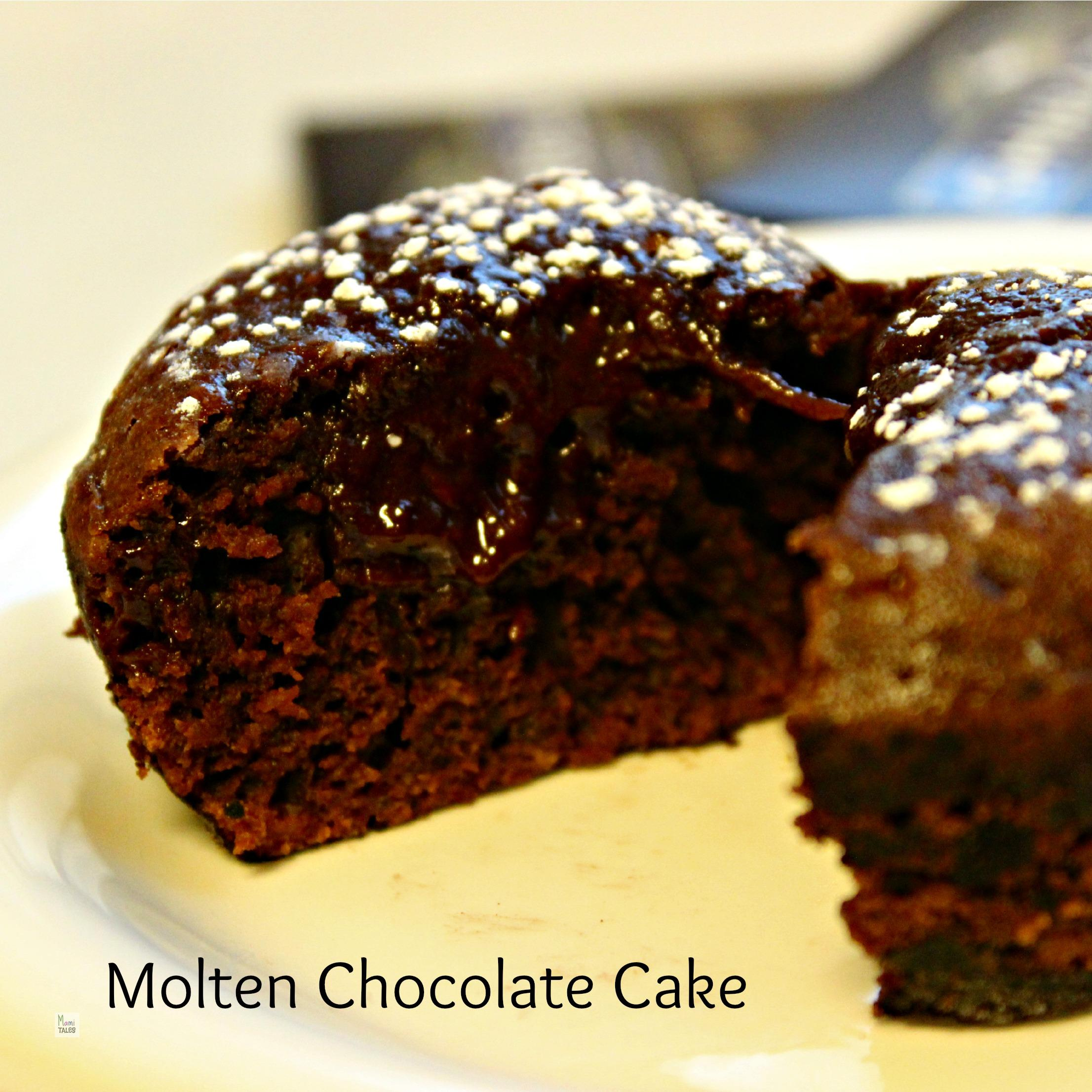 Banshee and Molten Chocolate cakes - Mami Tales
