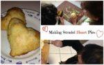 Making Strudel Heart Pies